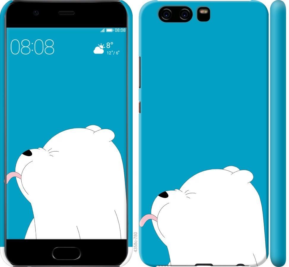 Чехол на Huawei P10 Мишка 1