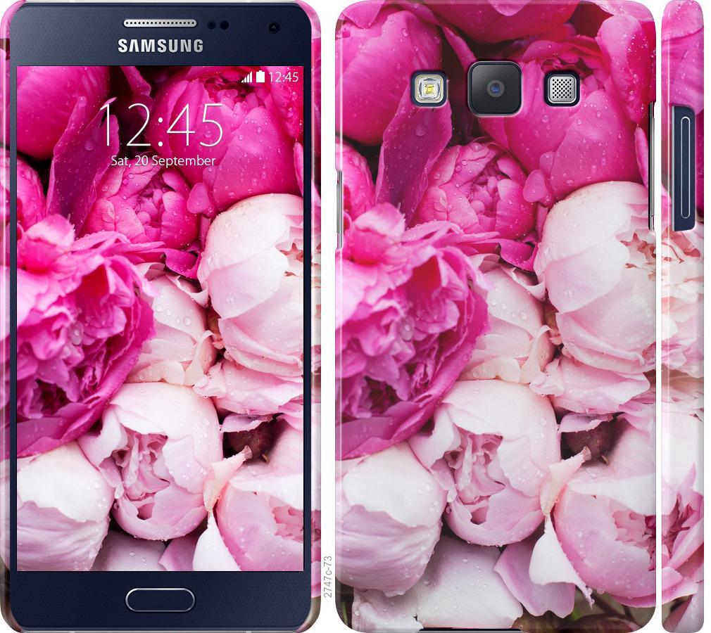 Чехол на Samsung Galaxy A5 A500H Розовые пионы