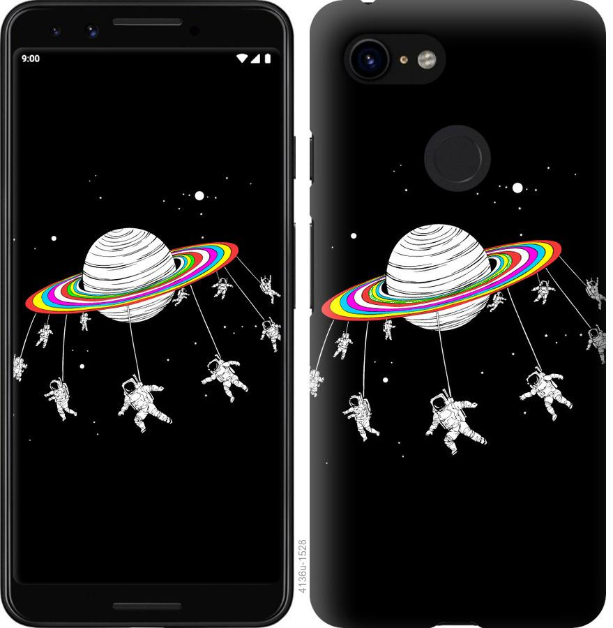 Чехол на Google Pixel 3 Лунная карусель