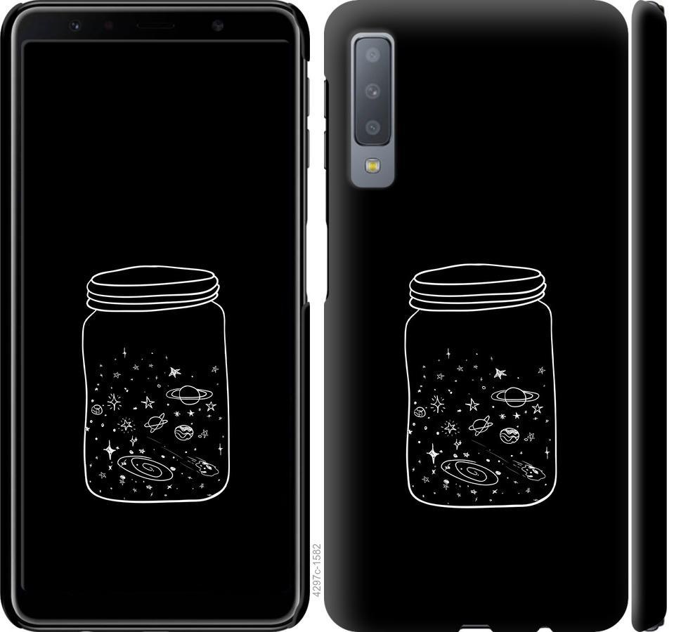 Чехол на Samsung Galaxy A7 (2018) A750F Космос в банке