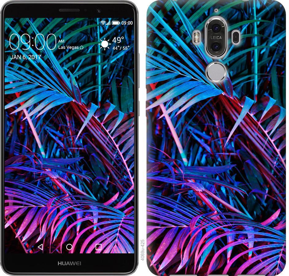 Чохол на Huawei Mate 9 Папороть під ультрафіолетом