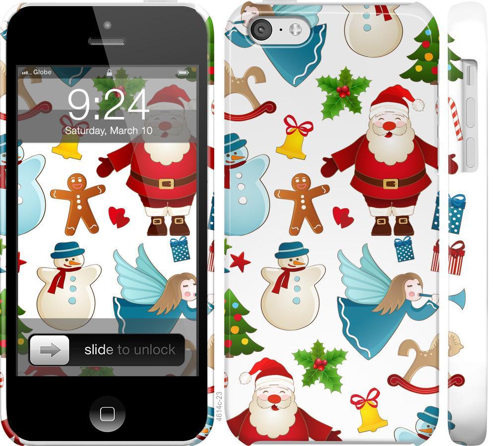 Чехол на iPhone 5c Новогодний 1