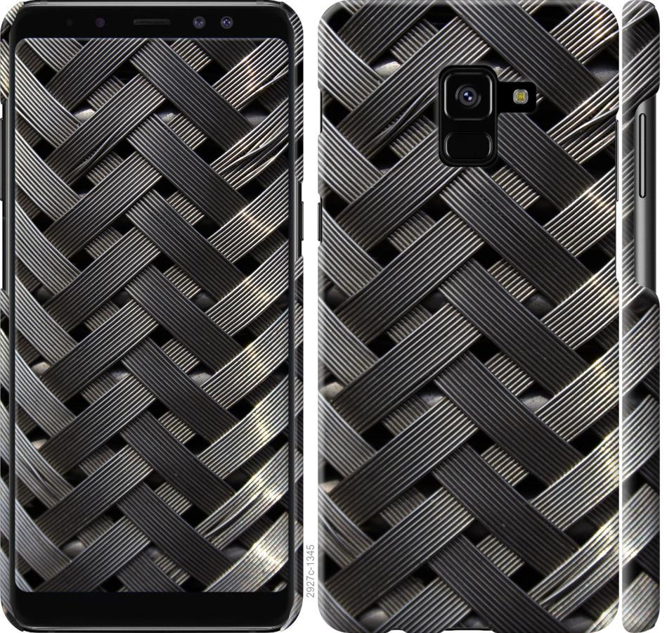 Чехол на Samsung Galaxy A8 Plus 2018 A730F Металлические фоны
