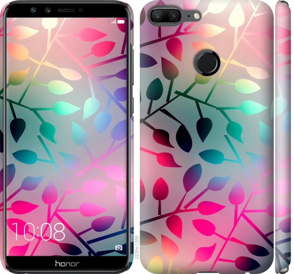 Чехол на Huawei Honor 9 Lite Листья
