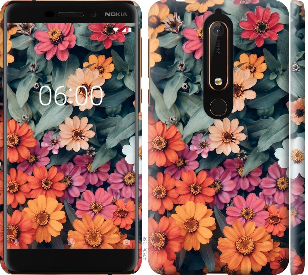 Чехол на Nokia 6 2018 Beauty flowers