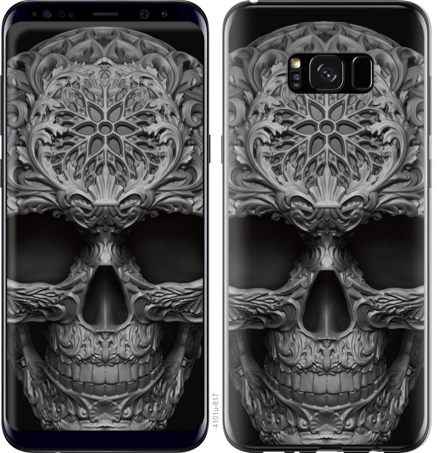 Чехол на Samsung Galaxy S8 Plus skull-ornament