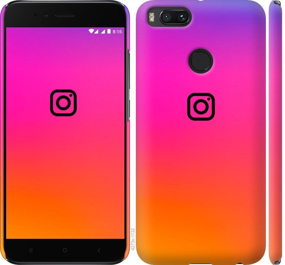 Чехол на Xiaomi Mi A1 Instagram