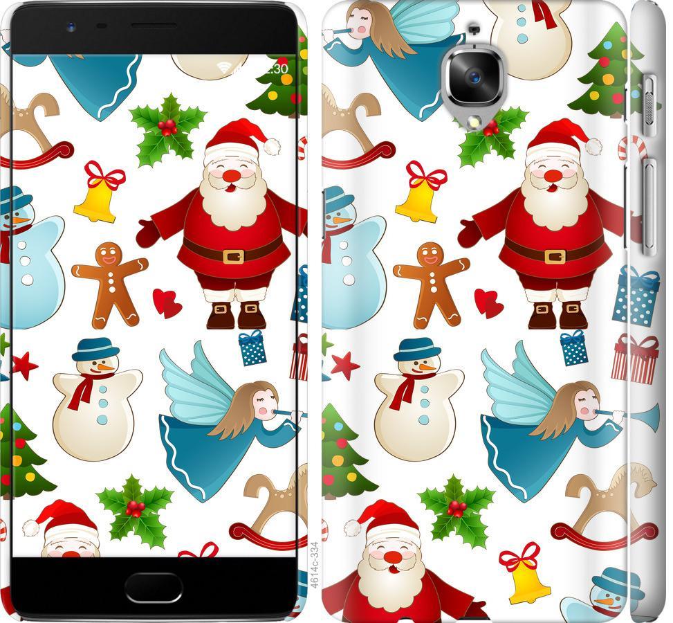 Чехол на OnePlus 3T Новогодний 1