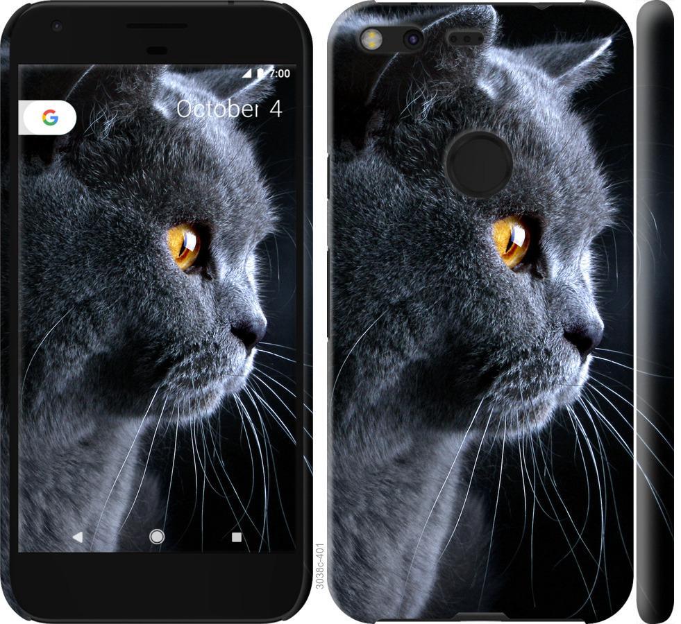 Чехол на Google Pixel XL Красивый кот