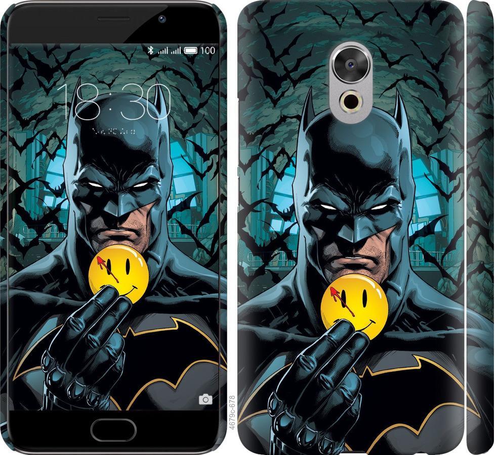 Чехол на Meizu Pro 6 Plus Бэтмен 2