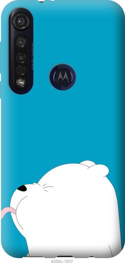 Чехол на Motorola G8 Plus Мишка 1