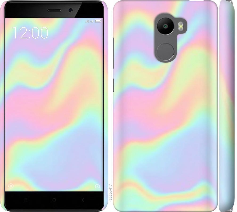 Чехол на Xiaomi Redmi 4 пастель