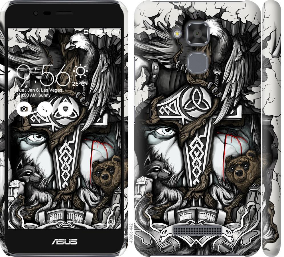 Чохол на Asus Zenfone 3 Max ZC520TL Тату Викинг