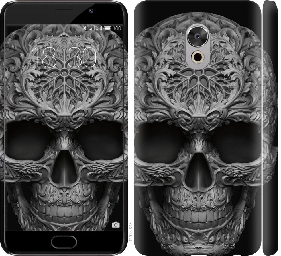 Чехол на Meizu Pro 6 Plus skull-ornament