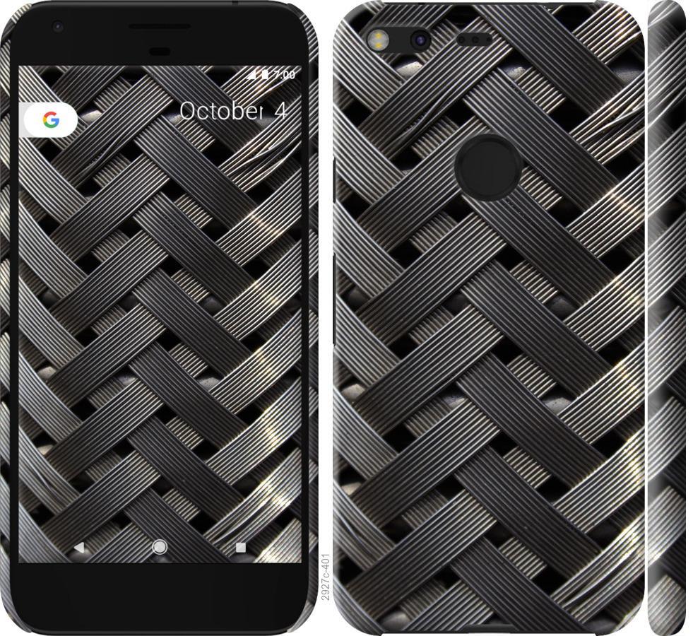 Чехол на Google Pixel XL Металлические фоны