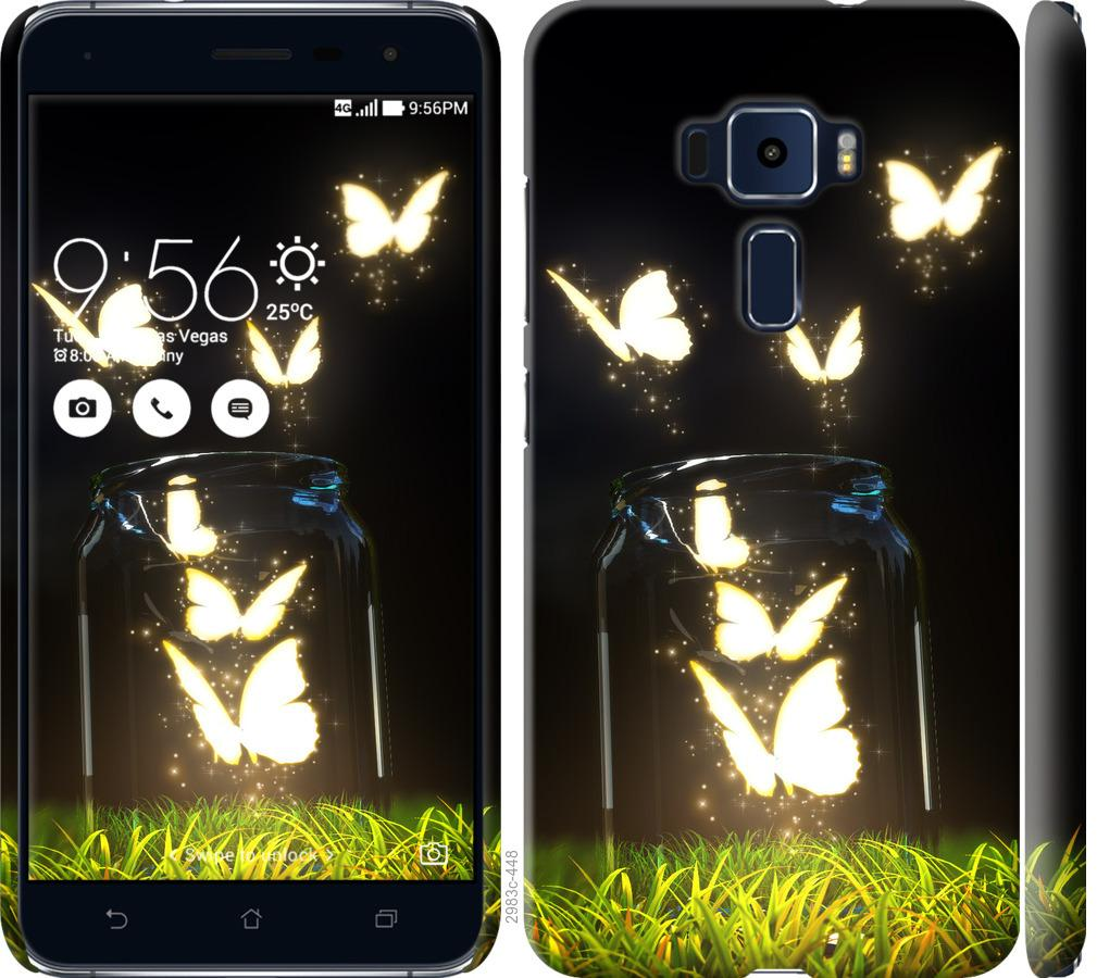 Чехол на Asus Zenfone 3 ZE552KL Бабочки