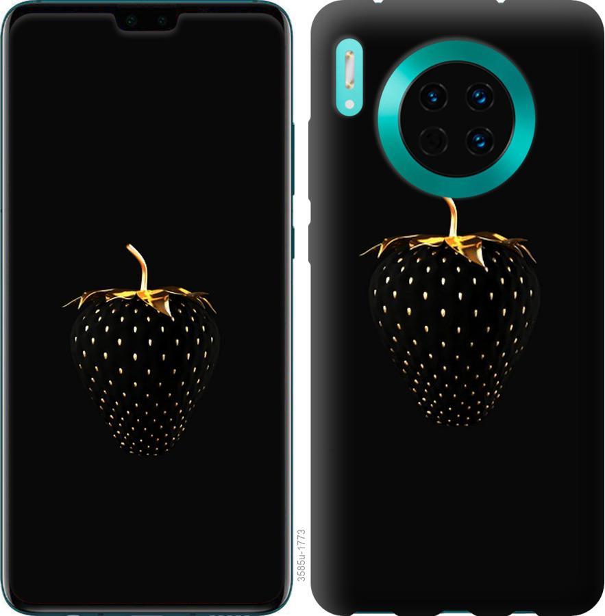 Чехол на Huawei Mate 30 Pro Черная клубника