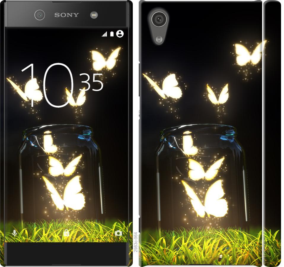 Чехол на Sony Xperia XA1 G3112 Бабочки