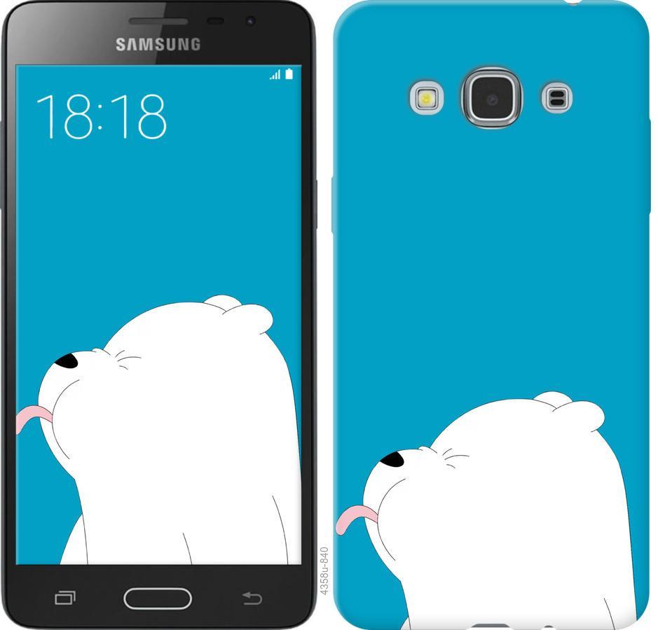 Чехол на Samsung Galaxy J3 Pro Мишка 1