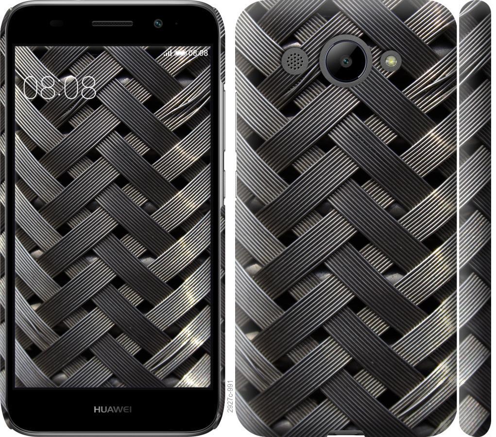 Чехол на Huawei Y3 2017 Металлические фоны