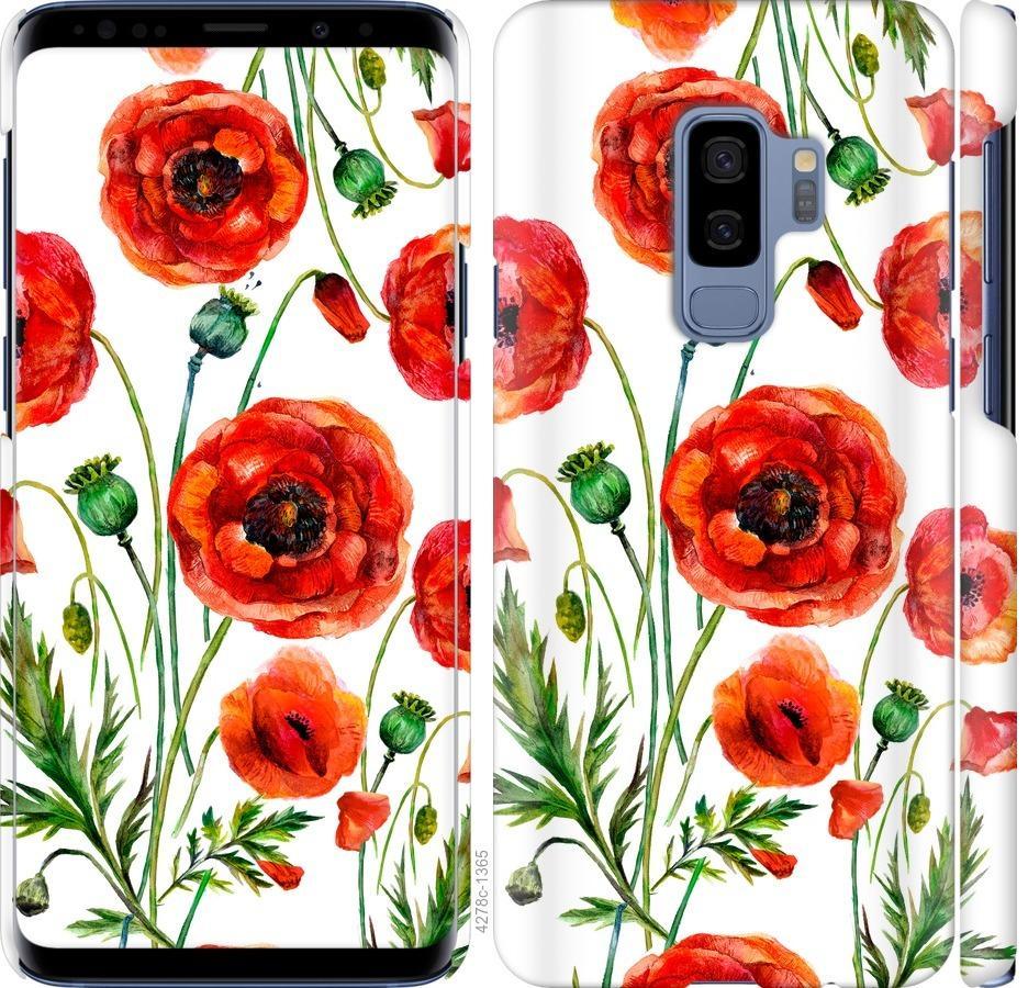Чехол на Samsung Galaxy S9 Plus Нарисованные маки