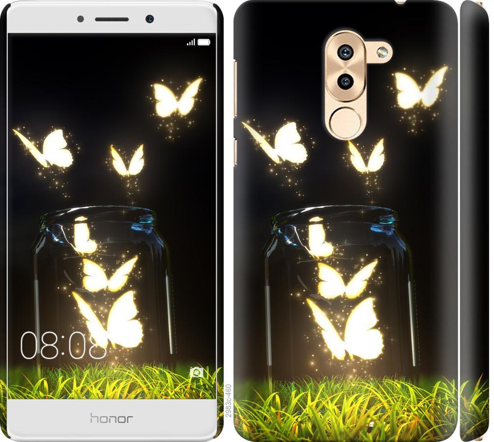 Чехол на Huawei GR5 2017 Бабочки