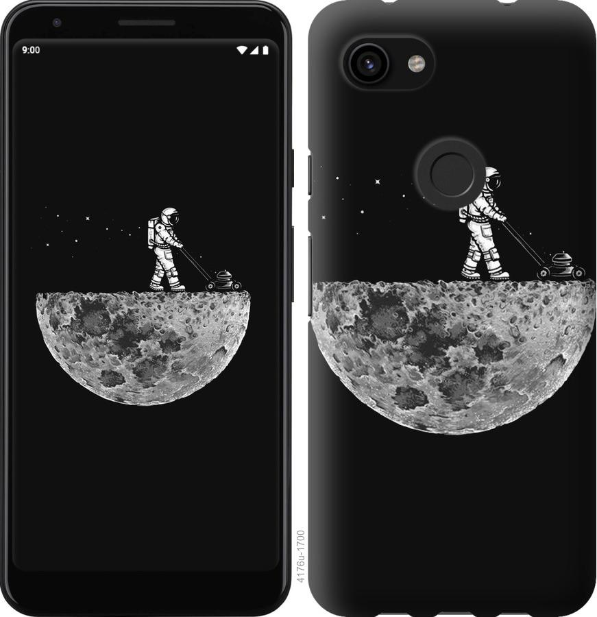 Чехол на Google Pixel 3a Moon in dark