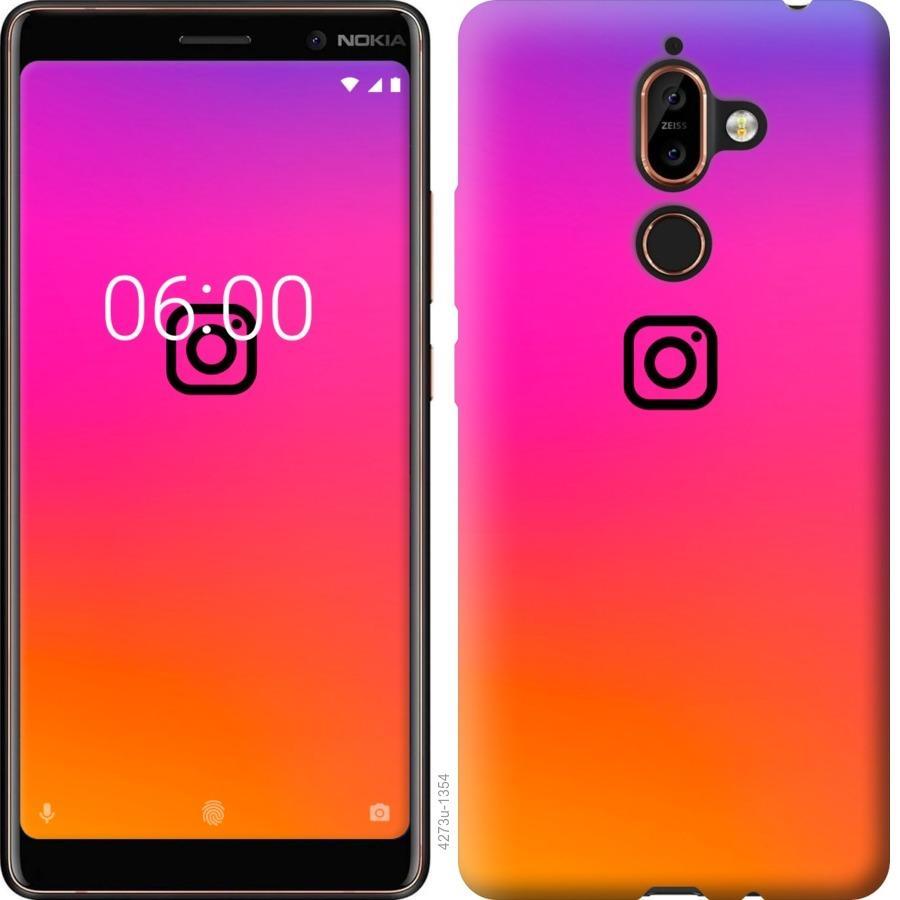 Чехол на Nokia 7 Plus Instagram