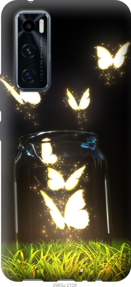 Чехол на Vivo V20 SE Бабочки