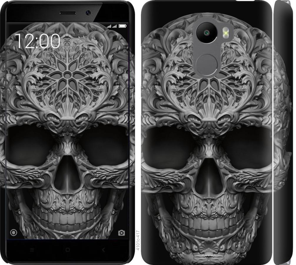 Чехол на Xiaomi Redmi 4 skull-ornament