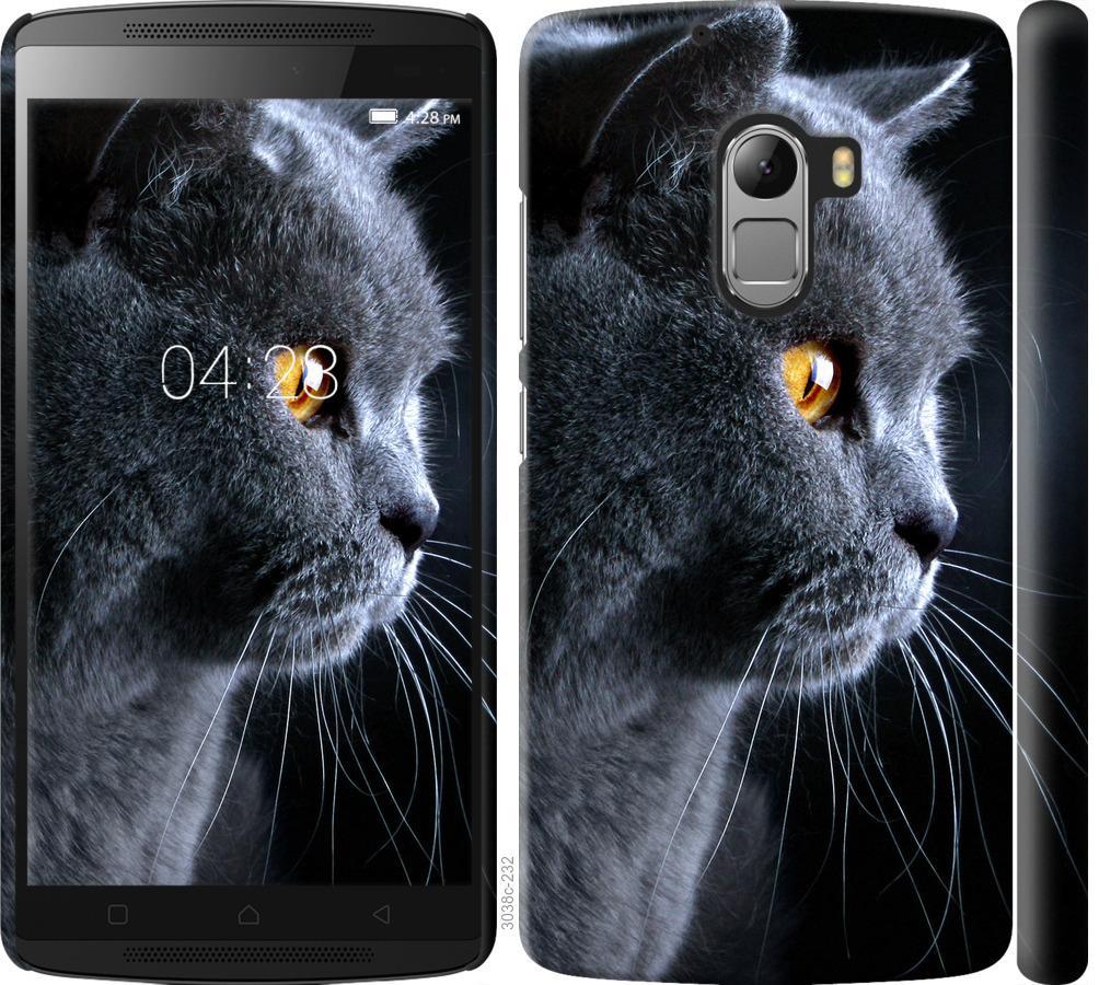 Чехол на Lenovo A7010 Красивый кот