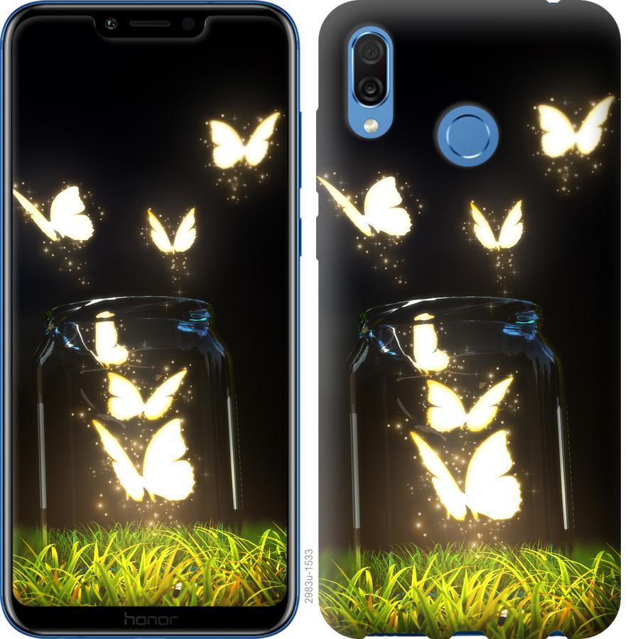 Чехол на Huawei Honor Play Бабочки