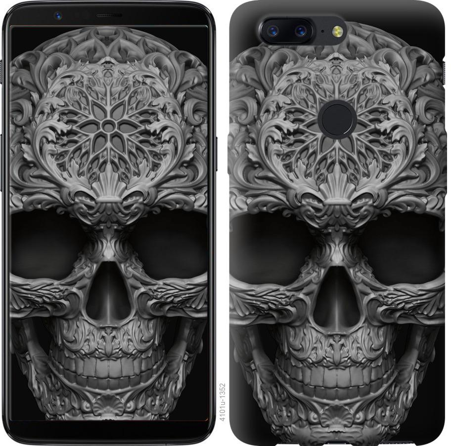 Чехол на OnePlus 5T skull-ornament
