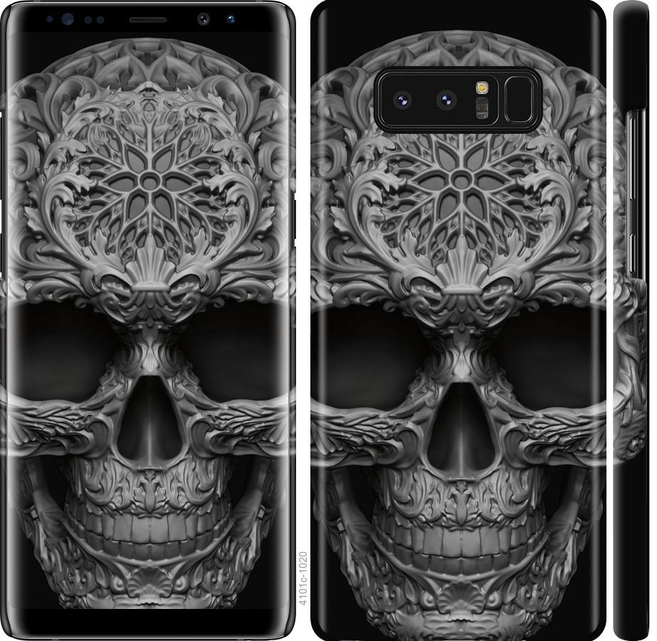 Чехол на Samsung Galaxy Note 8 skull-ornament