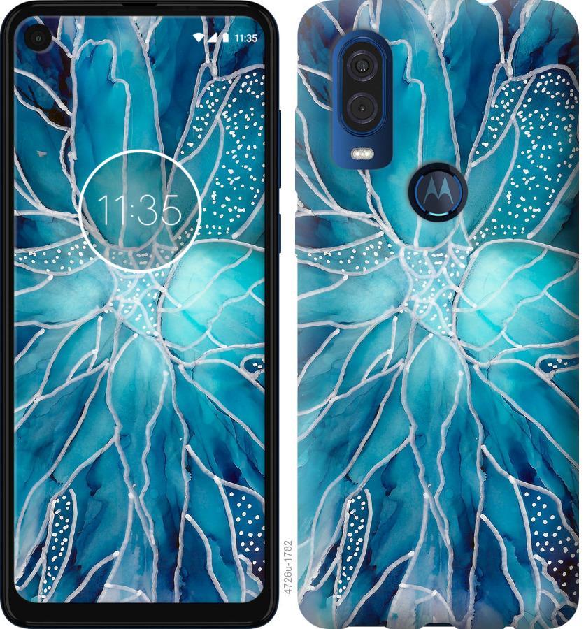 Чехол на Motorola One Vision чернило