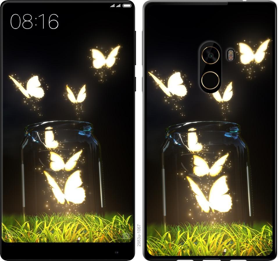 Чехол на Xiaomi Mi MiX 2 Бабочки