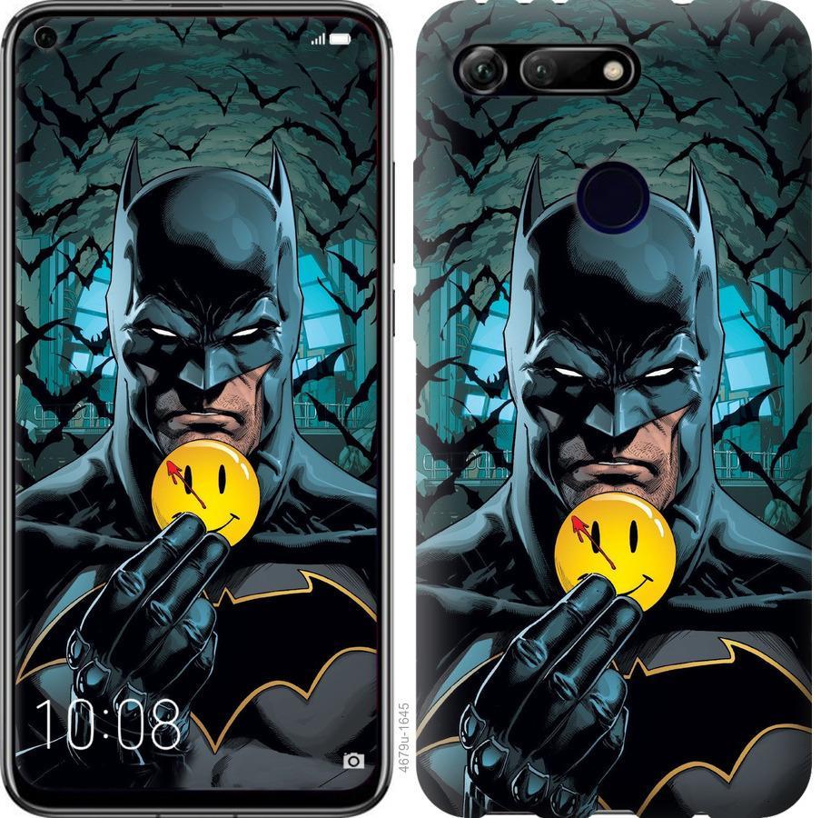 Чехол на Huawei Honor View 20 Бэтмен 2