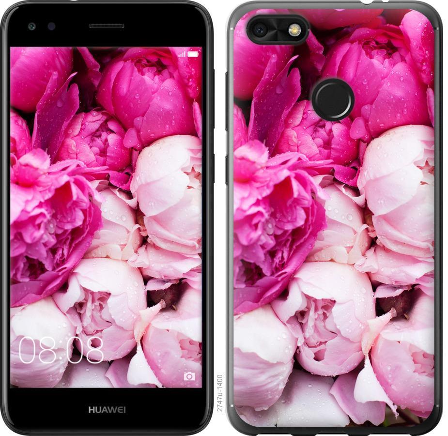 Чехол на Huawei P9 Lite mini Розовые пионы