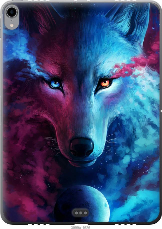 Чехол на iPad Pro 11 2018 Арт-волк