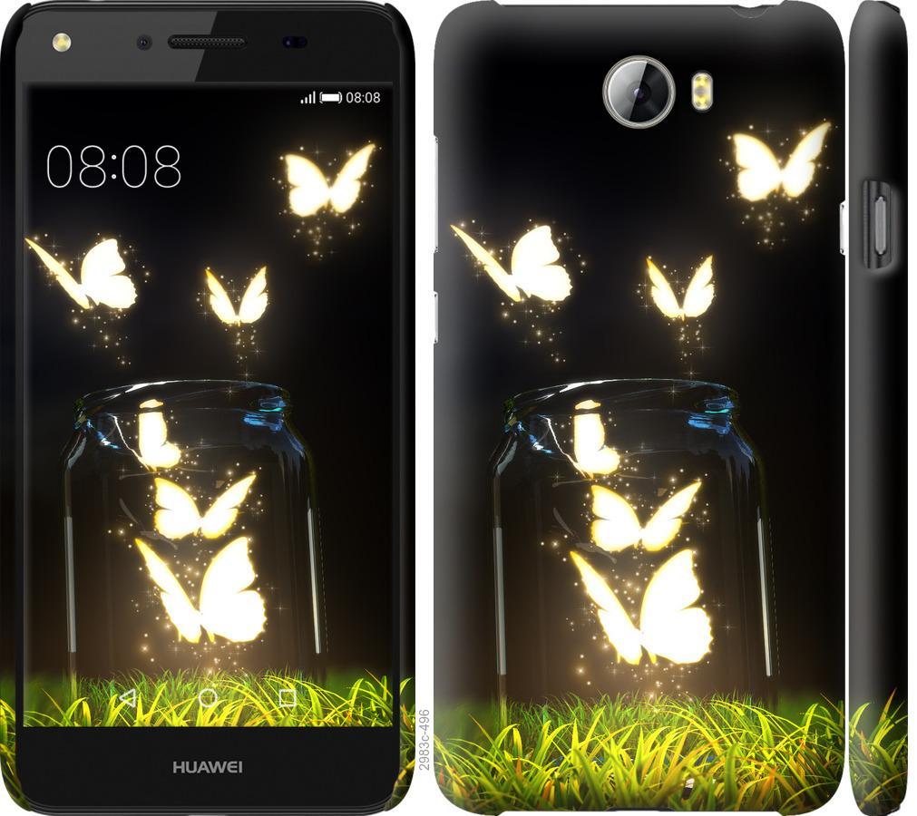 Чехол на Huawei Y5 II Бабочки