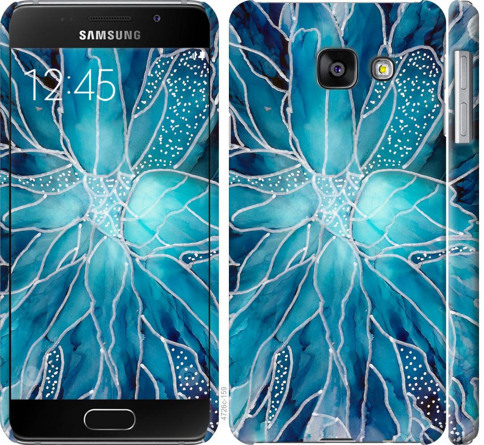Чехол на Samsung Galaxy A3 (2016) A310F чернило