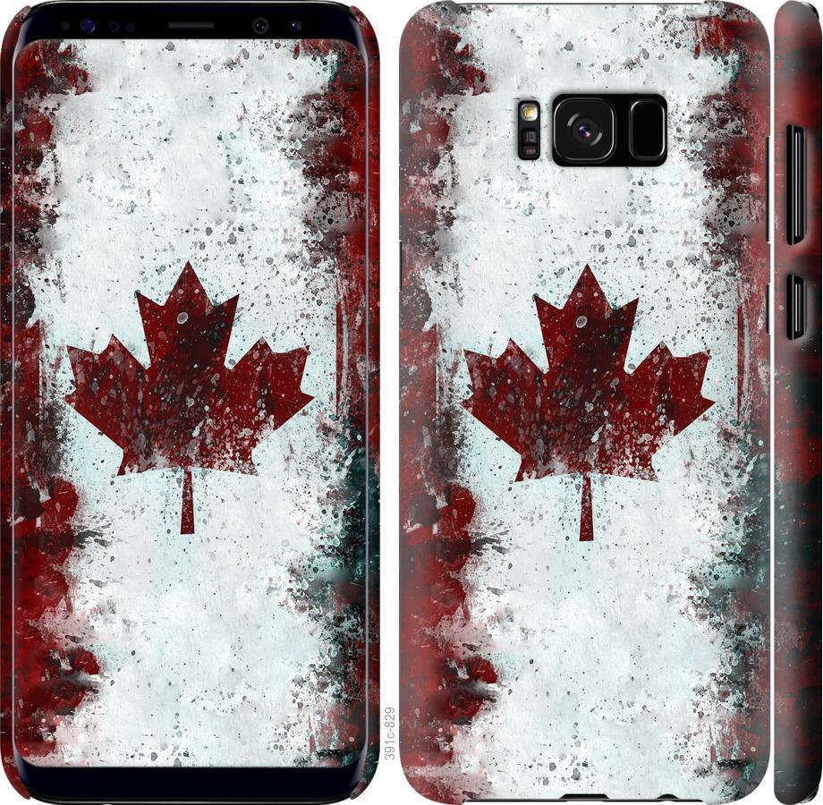 Чехол на Samsung Galaxy S8 Флаг Канады
