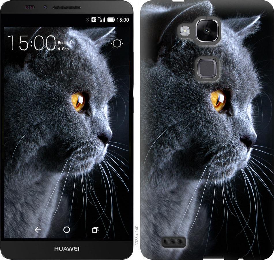 Чехол на Huawei Ascend Mate 7 Красивый кот