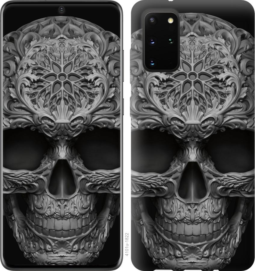 Чехол на Huawei Honor 30S skull-ornament