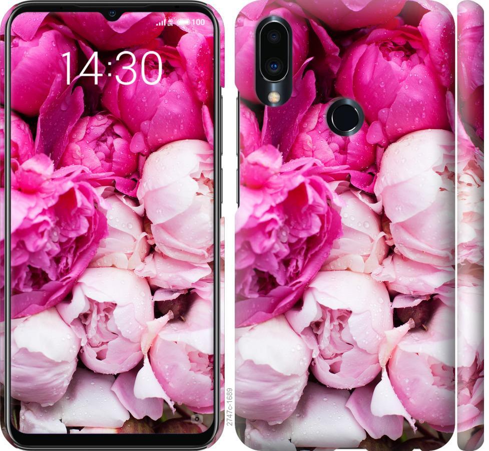 Чохол на Meizu Note 9 Рожеві півонії