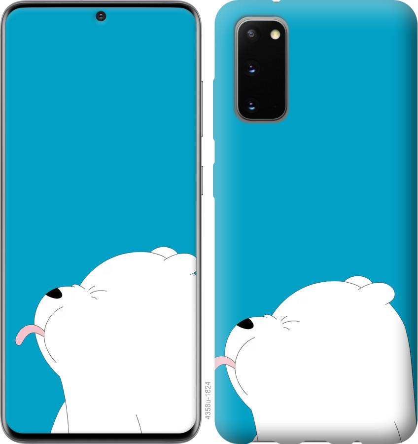 Чехол на Huawei Honor 30 Мишка 1