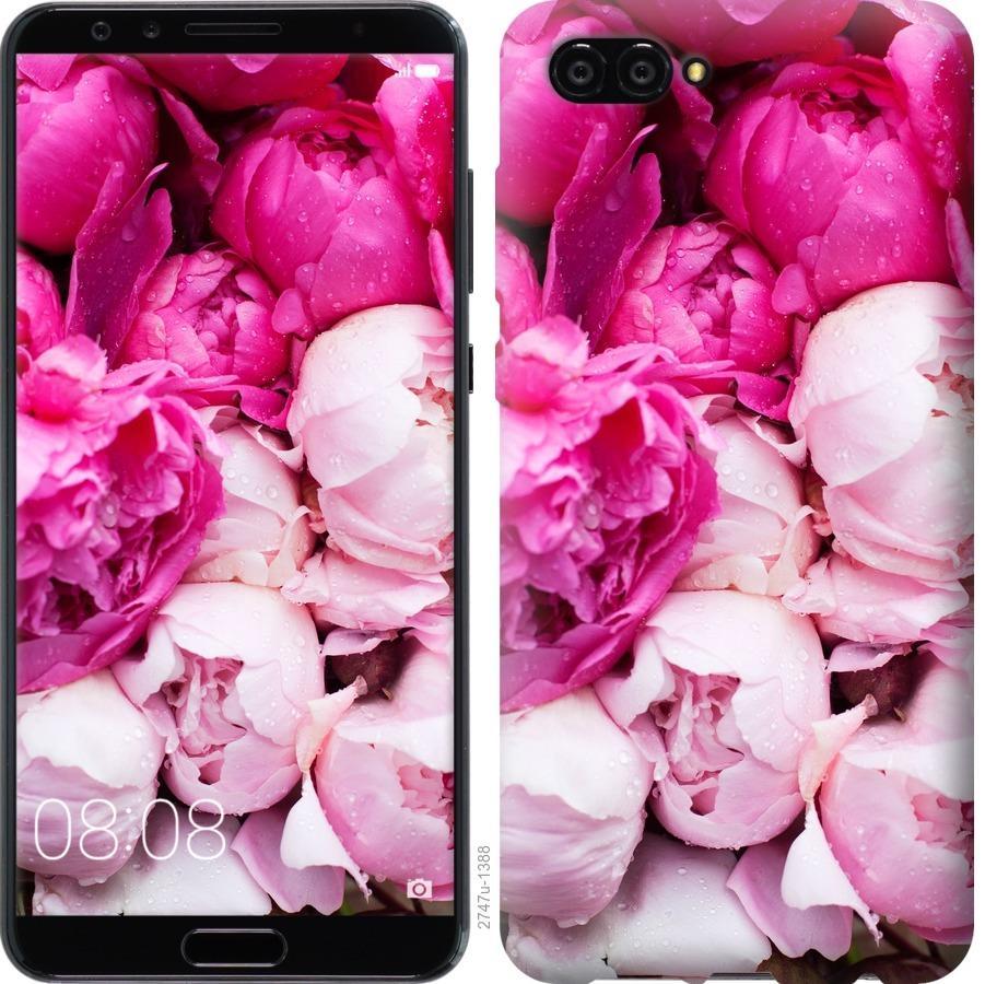 Чехол на Huawei Nova 2S Розовые пионы