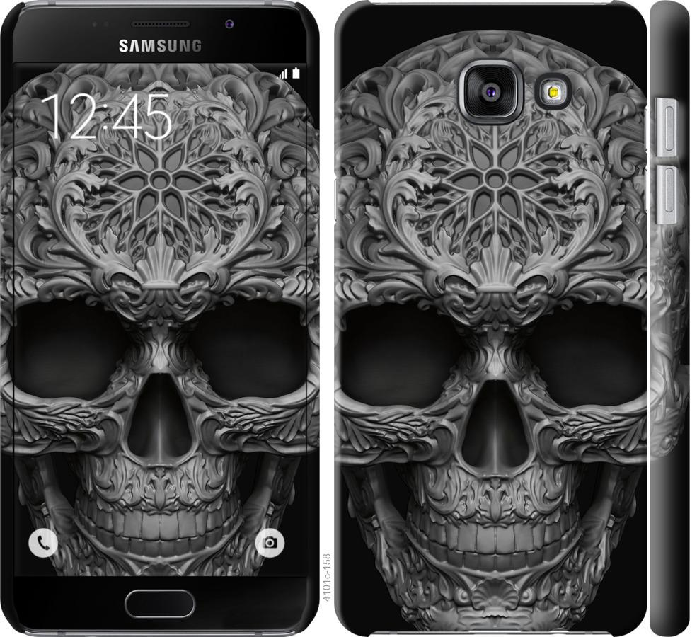 Чехол на Samsung Galaxy A5 (2016) A510F skull-ornament