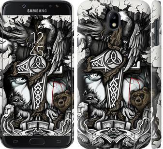 Чохол на Samsung Galaxy J7 J730 (2017) Тату Викинг