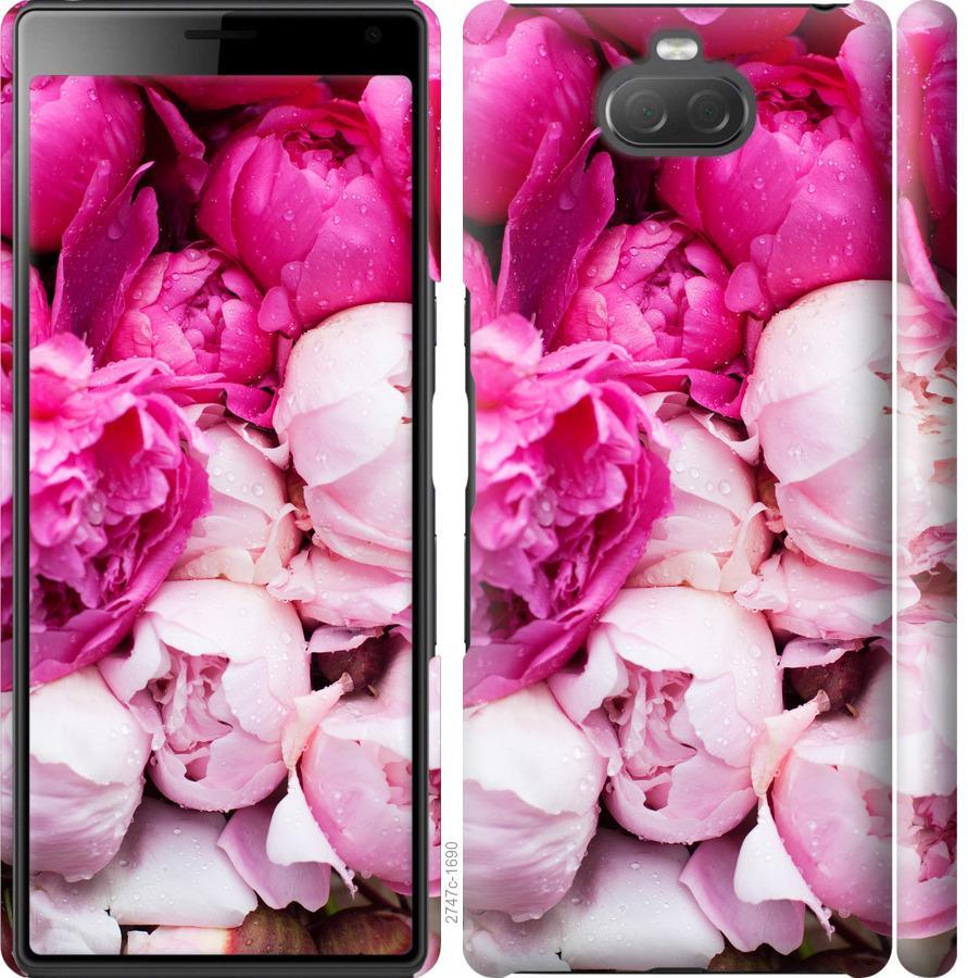 Чохол на Sony Xperia 10 Plus I4213 Рожеві півонії